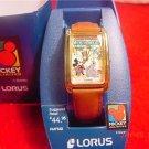 "Vintage MIB Lorus Disney Mickey ""Mickey Circus"" Watch"