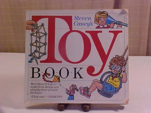 1972 TOY BOOK MORE THEN 50 TOYS TO MAKE