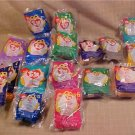 LOT OF McDONALD'S TY TEENIE BEANIE BABIES