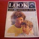 1964 LOOK MAGAZINE THE JFK MEMORIAL ISSUE