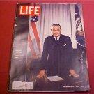 1963 LIFE MAGAZINE PRESIDENT JOHNSON AT WHITE HOUSE