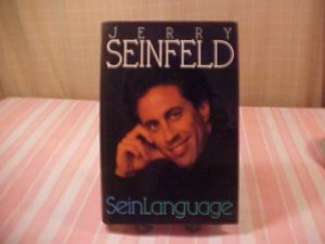 1993 HARD COVER BOOK JERRY SEINFELD SEIN LANGUAGE