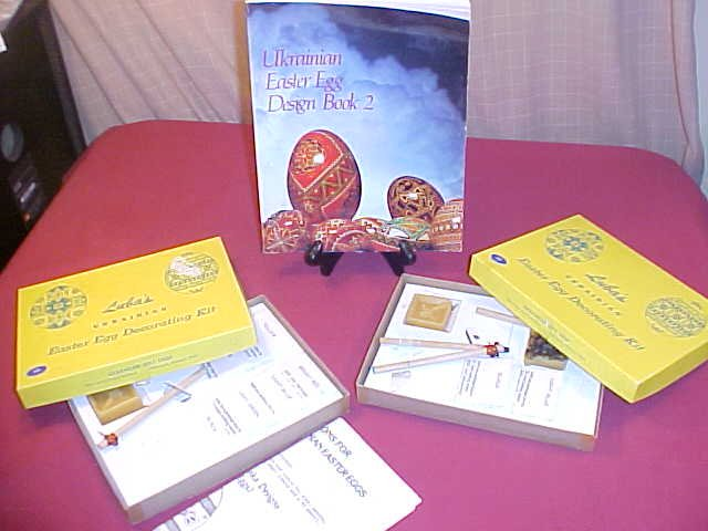 LUBA'S UKRAINIAN EASTER EGG DECORATING KIT (SOLD