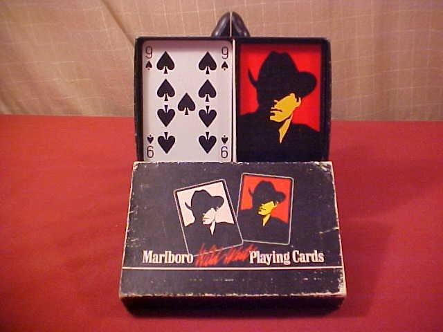 VINTAGE MARLBORO WILD WEST PLAYING CARDS