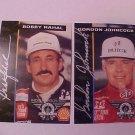 1994 GORDON JOHNCOCK BOBBY RAHAL INDY 500 TRADING CARD