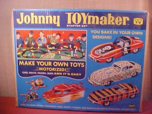 1968 JOHNNY TOYMAKER STARTER SET DIECAST MOLD CAR (SOLD)