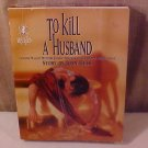 TO KILL A HUSBAND MYSTERY JIGSAW PUZZLE THRILLER
