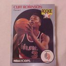 1990 NBA CLIFF ROBINSON TRADING CARD ROOKIE