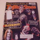 2001 ROLLING STONE MAGAZINE SLIPKNOT THE STROKES