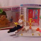 VINTAGE 1960'S SEARS BARBIE HEATH CENTER  PLAYSET W/BOX