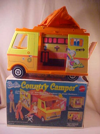1970 Barbie Country Camper By Mattel With Box