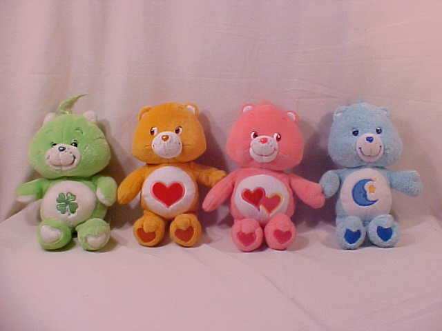 LOT OF 4 CARE BEARS (SOLD)