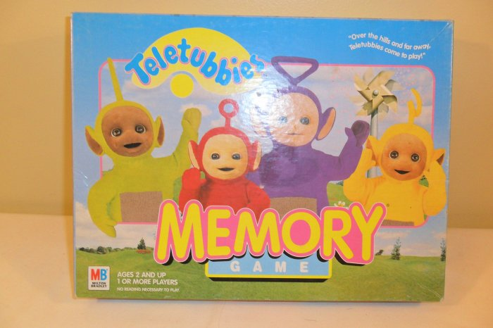 What Stores Take Paypal >> 1999 TELETUBBIES MEMORY GAME COMPLETE