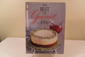 1986 THE BEST OF GOURMET 1986 EDITION COOKBOOK HARDCOVER