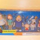 MIB 2005 MEZCO FAMILY GUY 6 PIECE FAMILY BOXED SET