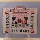 1988 CROSS STICH AND COUNTRY CRAFTS KEEPSAKE CALENDAR