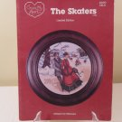 1984 CROSS MY HEART THE SKATERS COUNTED CROSS STITCH LIMTED EDITION