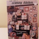 1983 DALE BURDETT MAKE MINE A COUNTRY KITCHEN COUNTED SROSS STITCH BOOK