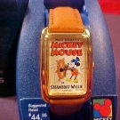 VINTAGE DISNEY MICKEY STEAMBOAT WILLIE WATCH MIB