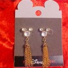 DISNEY STORE MICKEY CRYSTAL RHINESTONE POST EARRING NEW