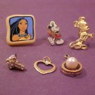 VINTAGE LOT OF EARRING AND PENDENTS