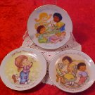LOT OF 3 AVON MOTHERS DAY COLLECTOR PLATES 93-84-82