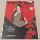It Made You Happy When You Made Me Cry 1926 FLAPPER