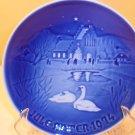 1974 Bing & Grondahl B&G porcelain Christmas plate #9074
