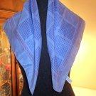 VINTAGE silk scarf SCARF BANDANA HANDKERCHIEF 100% silk