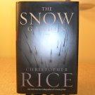 2001 THE SNOW GARDEN CHRISTOPHER RICE HARD COVER BOOK