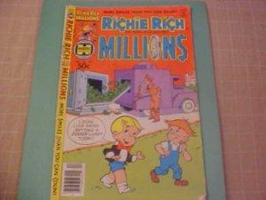 1980 Richie Rich Millions #103 comic book
