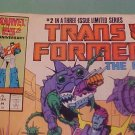 1987 marvel comic book #2 Trans Formers The Movie
