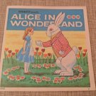 1952 View-Master Alice In Wonderland book