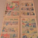Lot of 4 vinatge comic books Porky Pig, Superman, Candy