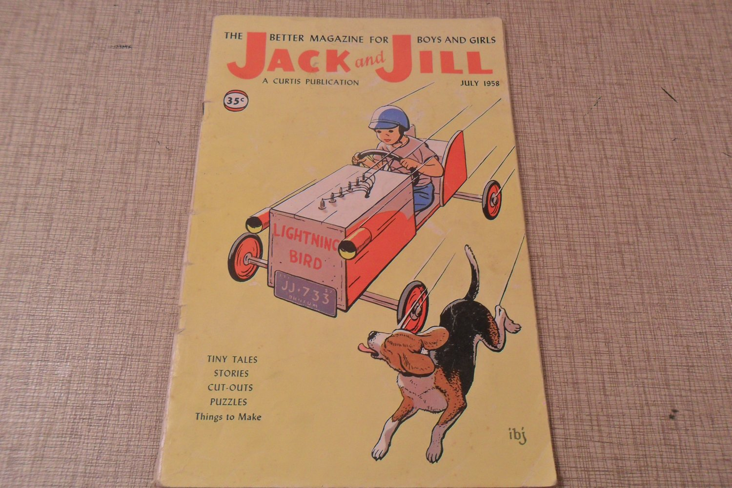 July 1958 Jack And Jill Magazine Tiny Tales Stories
