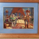 1996 The Disney Store Commenorative Toy Story Lithograph