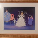 1995 The Disney Store Commenorative Cinderella Lithograph