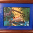 1997 Disneys the Jungle Book matted Lithograph