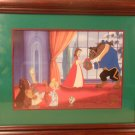 DISNEY STORE EXCLUSIVE LITHOGRAPH BEAUTY & THE BEAST