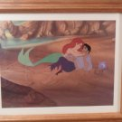 Disney Little Mermaid Ariel & Eric Lithograph