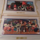 McDonalds 1999 Disney PIXAR Toy Story 2 Set of 2 Posters