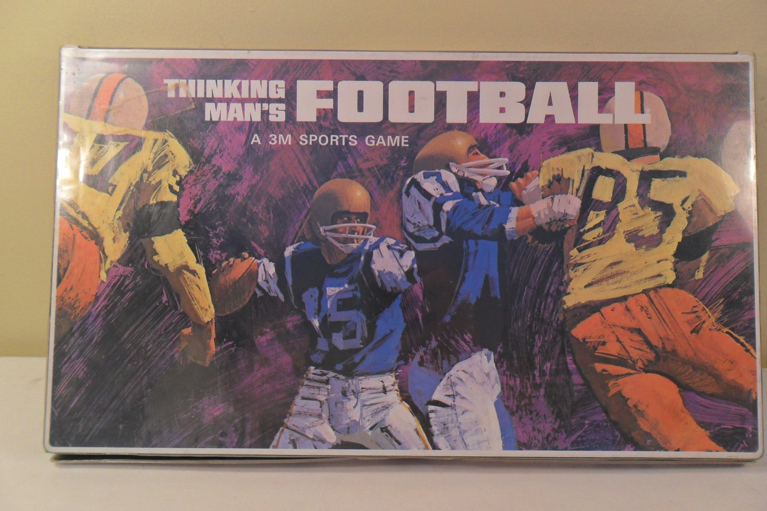 Vintage 3M Thinking Mans Football Game 1969 Complete