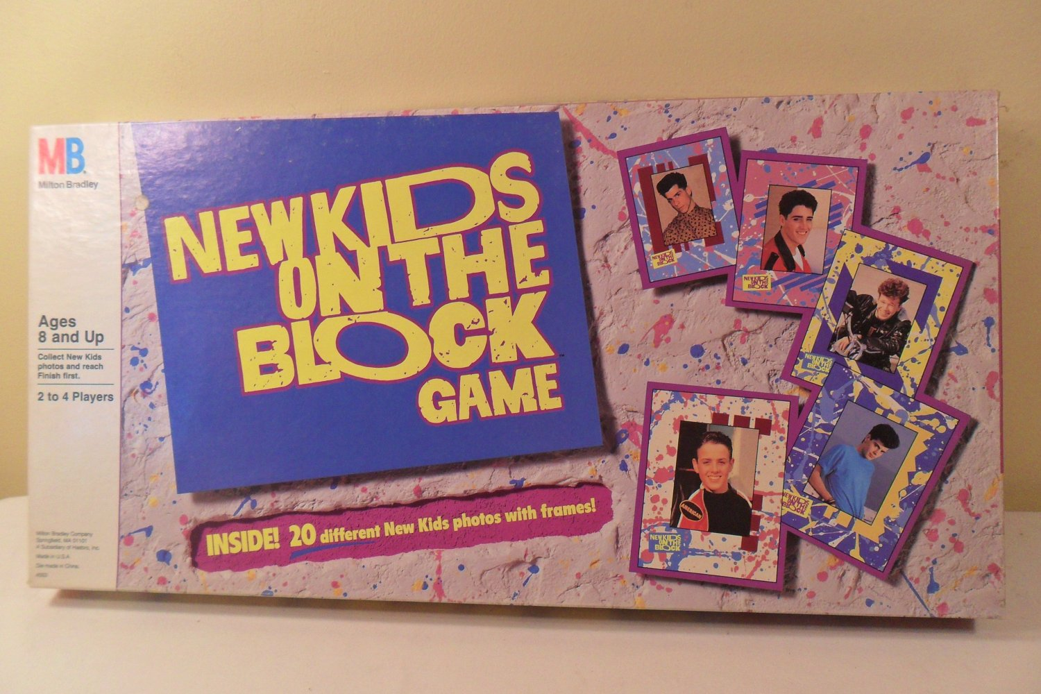 Stores That Accept Paypal >> Vintage 1990 New Kids on The Block Board Game