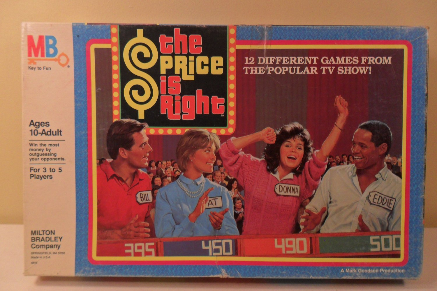 the price is right tv show board game milton bradley 1986. Black Bedroom Furniture Sets. Home Design Ideas