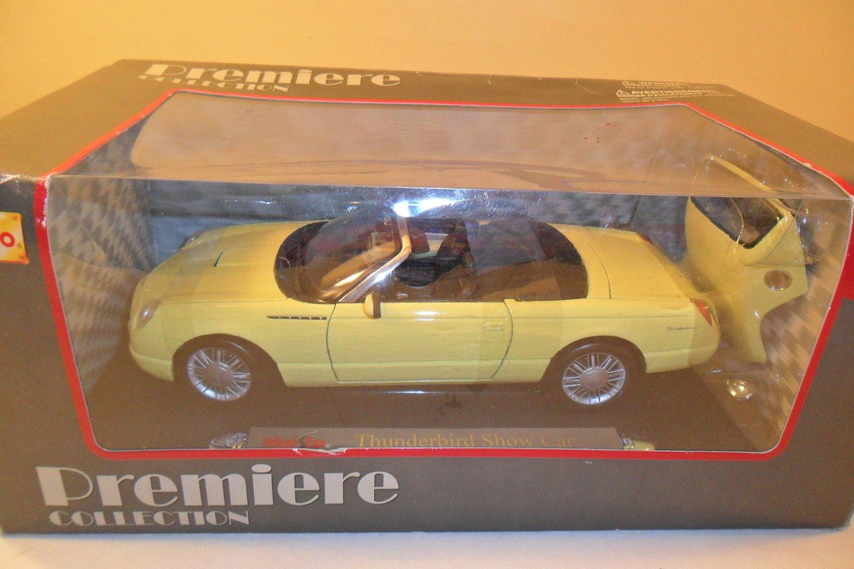 1998 Ford Thunderbird Show Car Diecast in 1:18 MIB