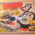 1994 Tyco Viper Electric Racing Race Chase U-Turn race car set