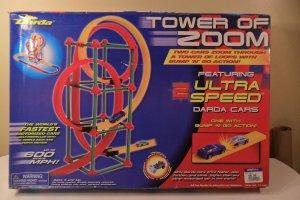 2001 Darda Cars Tower Of Zoom Race Track & Loop MIB
