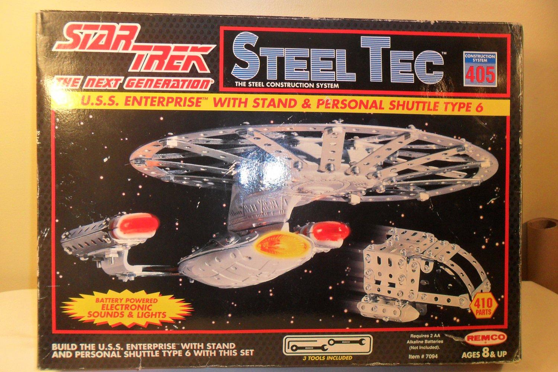 What Stores Take Paypal >> 1994 Star Trek USS Enterprise Steel Tec Model kit Remco