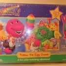 1998 Barney's Great Adventure Follow the Egg Board Game MIB