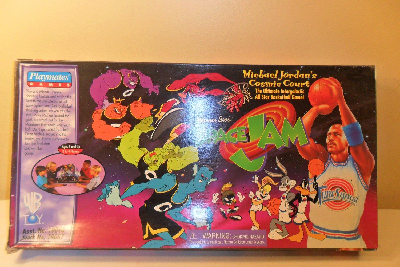1996 Michael Jordan's Cosmic Court Space Jam board game